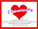 I Love Books Blog Sign