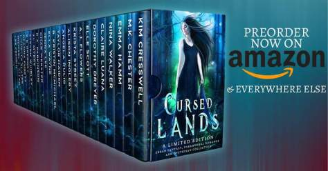 Cursed Lands Boxed Set now available to pre-order on #Kindle! #indiethursdays #booknerdigan #ASMSG